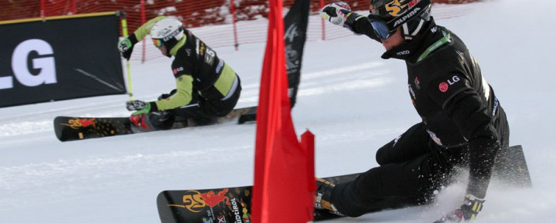 Fischnaller vs Bussler - pic by Oliver Kraus/FIS