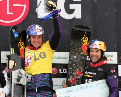 Sigi Grabner back on podium - pic by Oliver Kraus/FIS