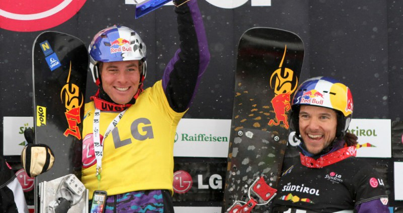 Sigi Grabner back on podium - pic by Oliver Kraus/FIS