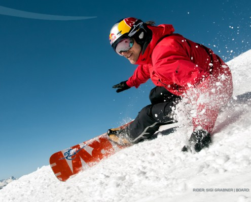 Sigi Grabner SG Snowboards Full Care 163 Pic by Martin Lugger