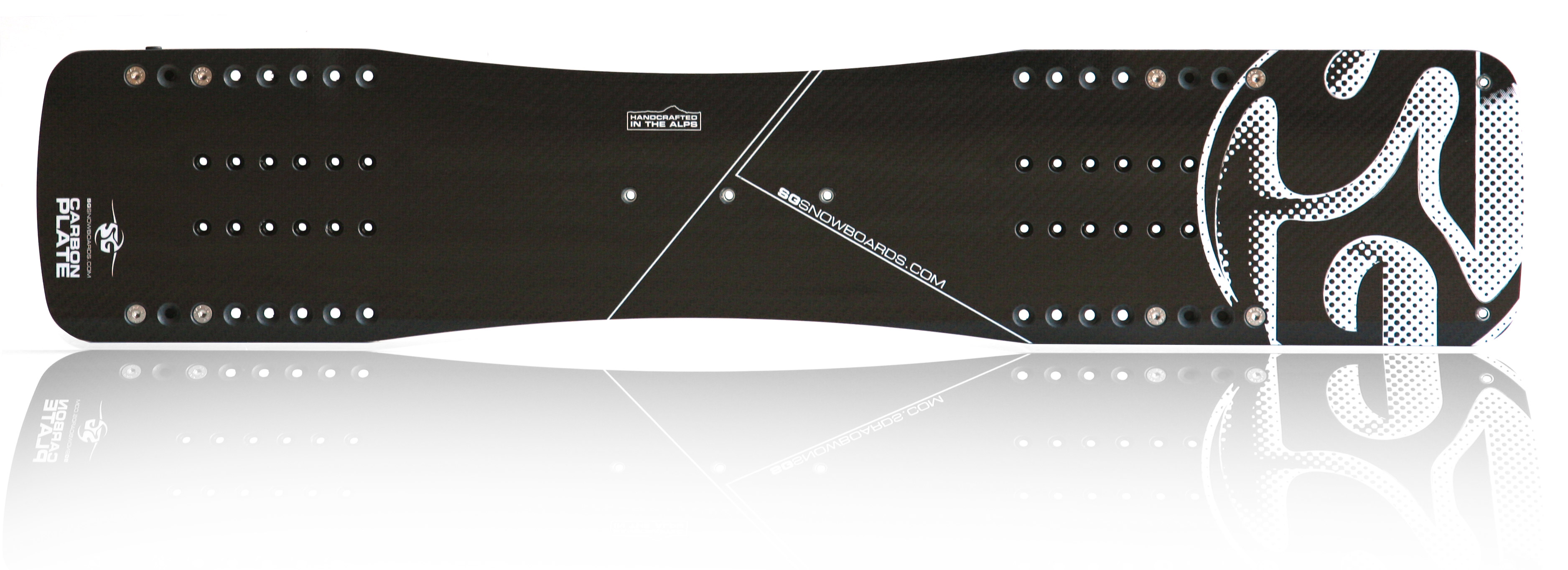 SG SNOWBOARDS Carbon Plate System
