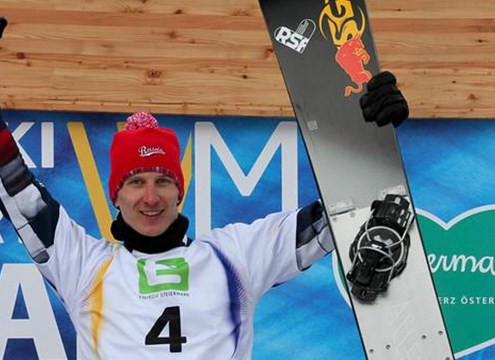 Andrey Sobolev wins PGS World Championship in Kreischberg (AUT) (c) FIS