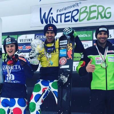 Roland Fischer, Winterberg, SG Snowboards. Kristallkugel