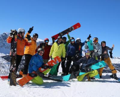 SG Snowboard Camp Sigi Grabner Carving makes you happy FB Kopie