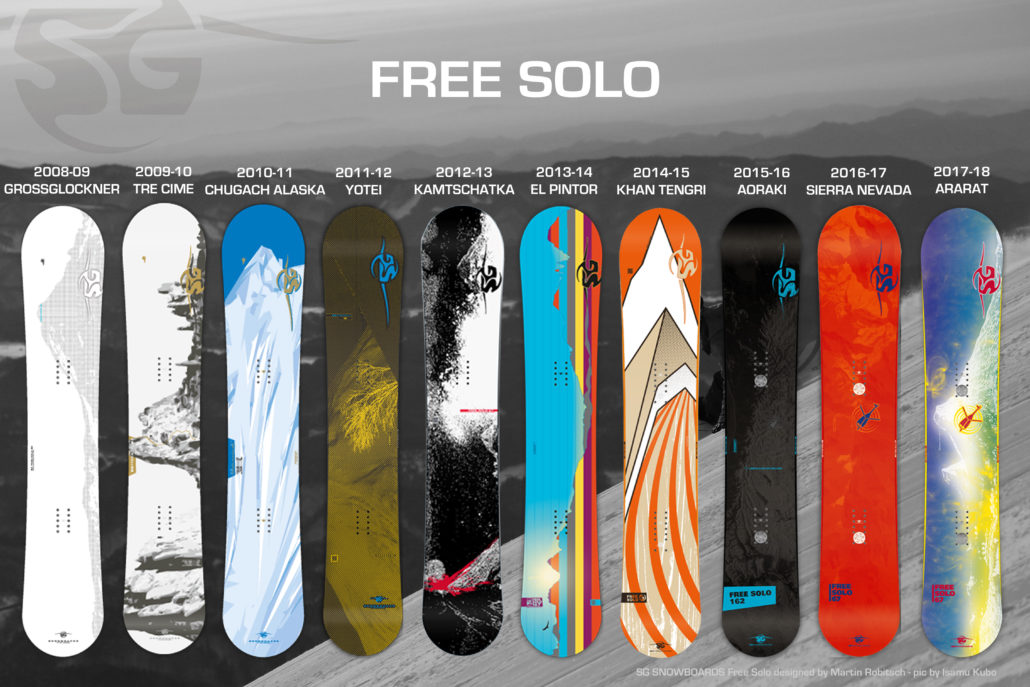 Free solo from to sg snowboards
