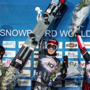 SG Snowboards Ester Ledecka PGS winner Cortina