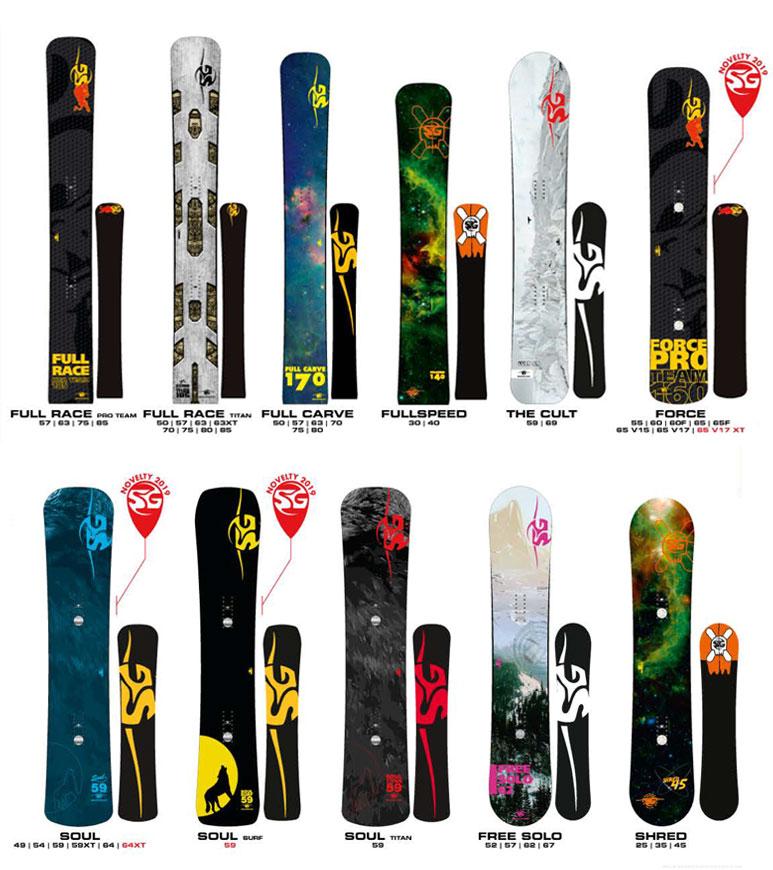 SG SNOWBOARDS: NEW RANGE 2019-20 » SG Snowboards