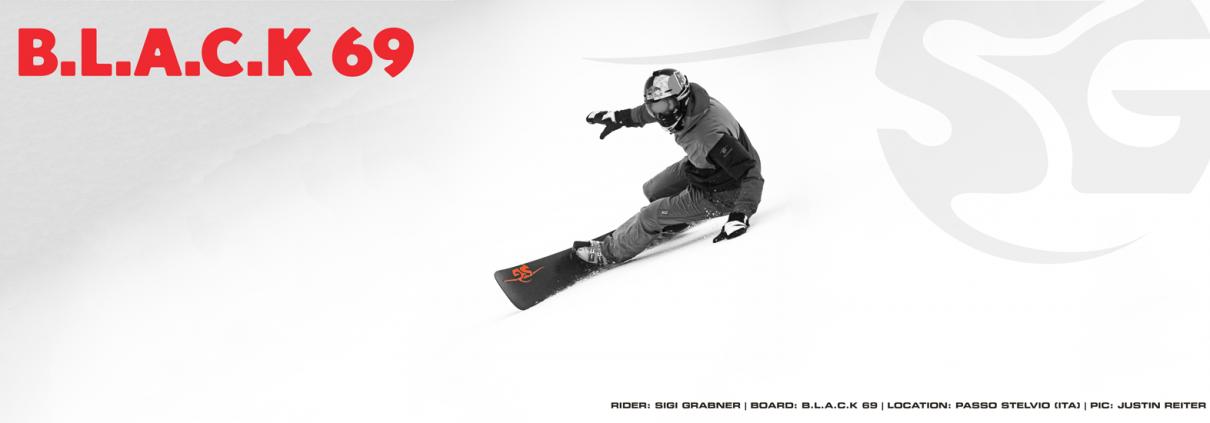 SG SNOWBOARDS Sigi Grabner Black 169 Stelvio Italy Photo Justin Reiter